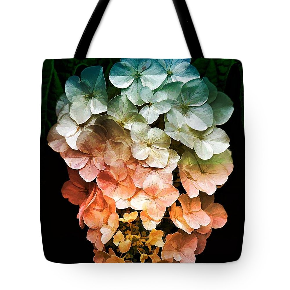 Floral Tote Bag featuring the photograph Hanging Around by Joyce Baldassarre
