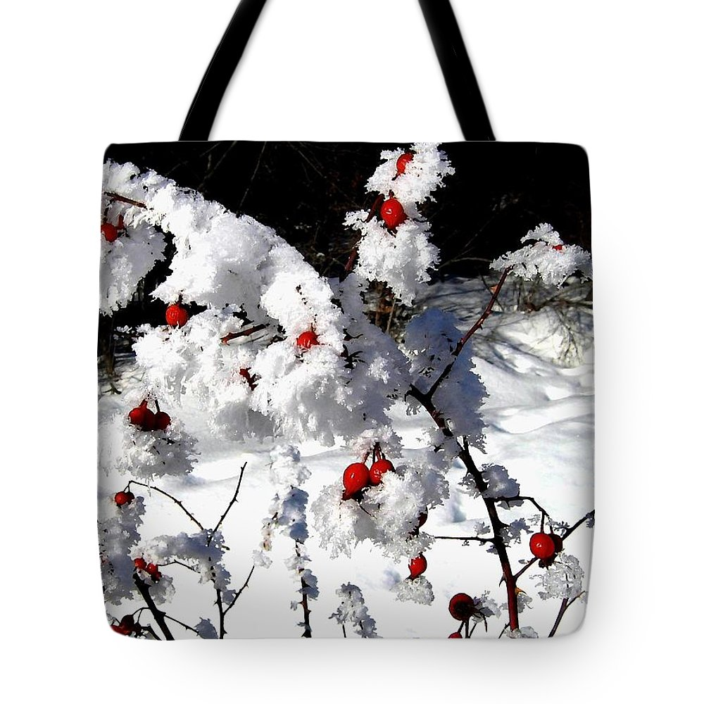 Frost Tote Bag featuring the photograph Highland Frost by Will Borden