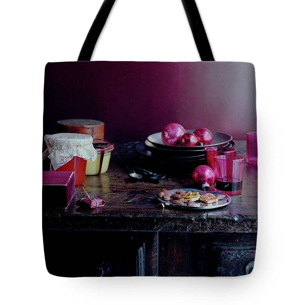 Interior Decoration Tote Bag featuring the photograph Homemade Gifts by Romulo Yanes
