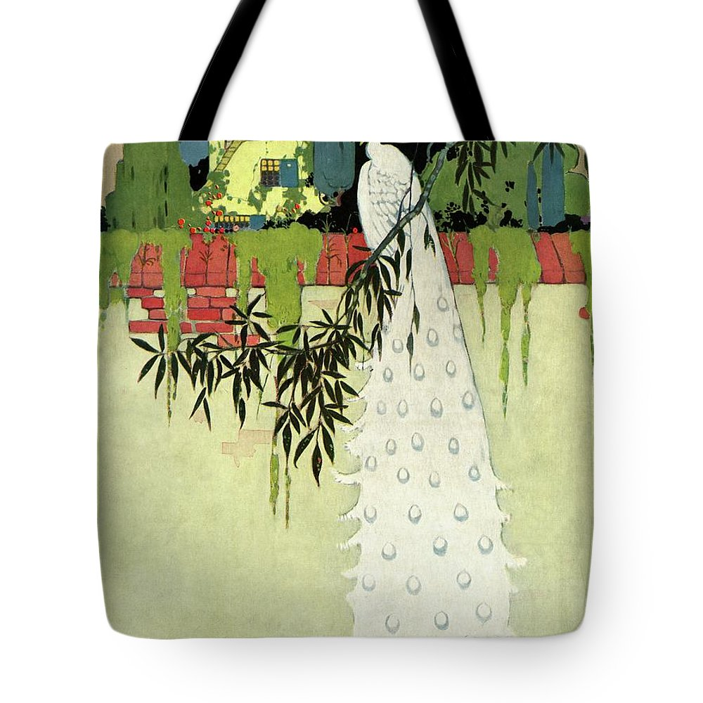 House And Garden Tote Bag featuring the photograph House And Garden Cover by H. George Brandt