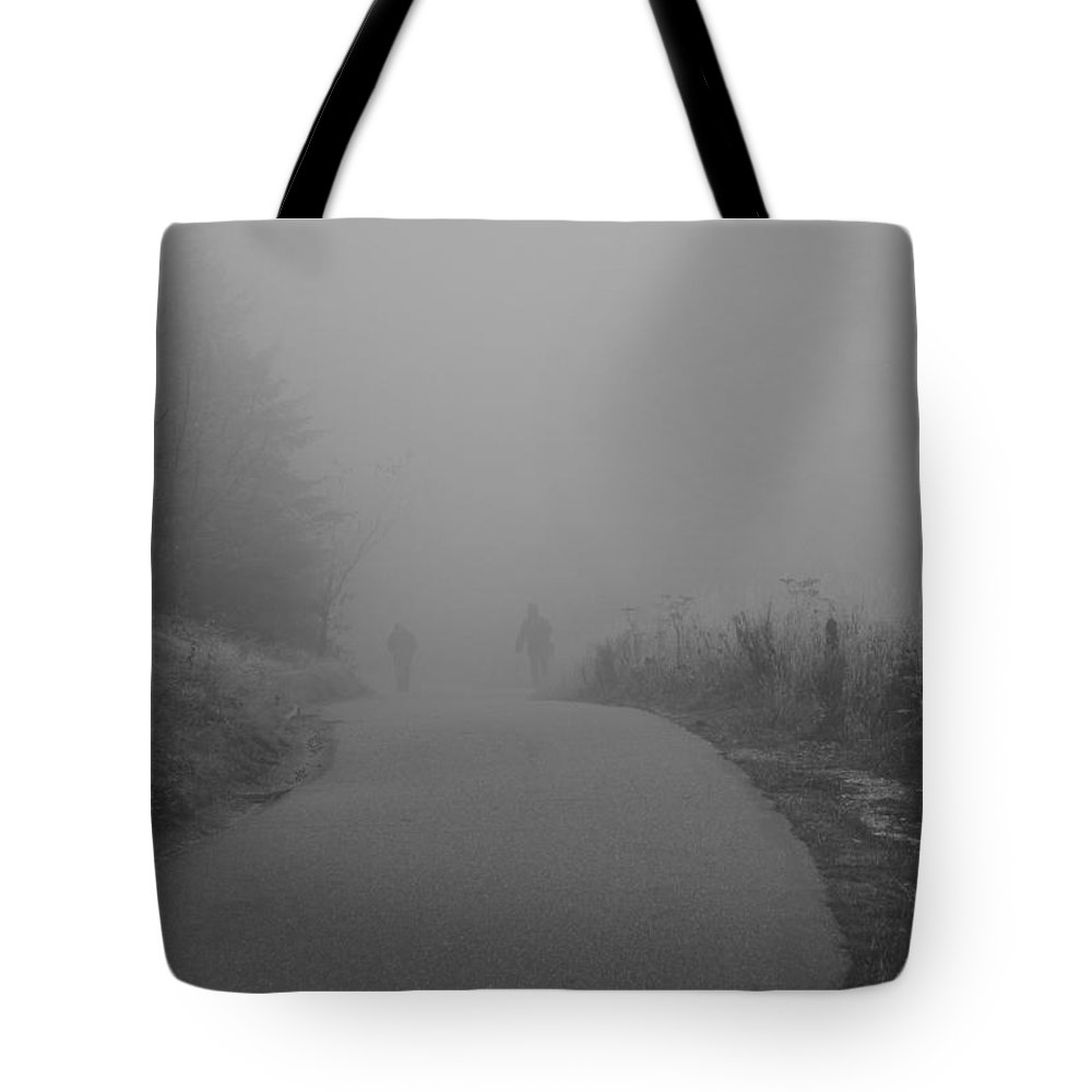 Into The Mystic Tote Bag featuring the photograph Into The Mystic by Dan Sproul