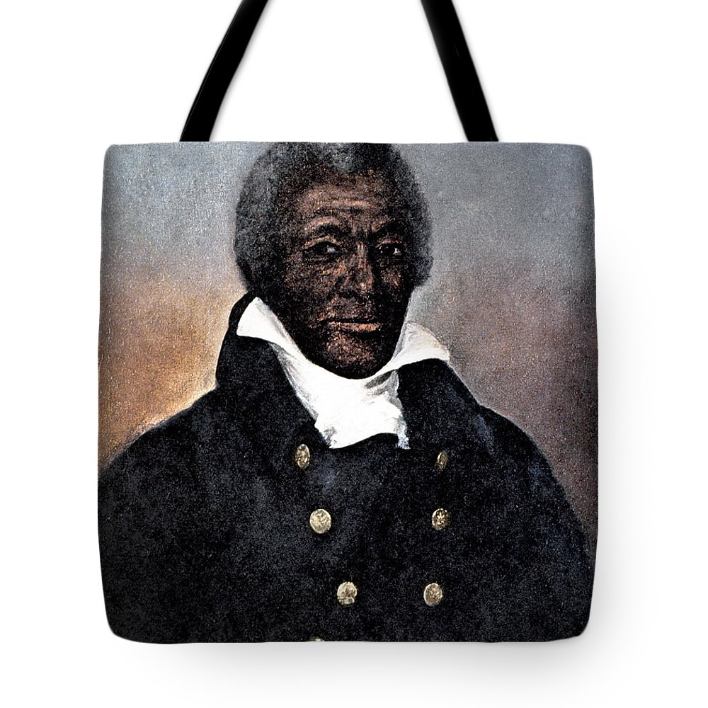 1824 Tote Bag featuring the photograph James Armistead Lafayette by Granger