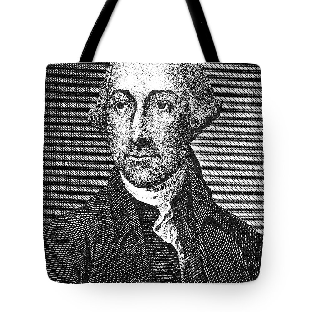 18th Century Tote Bag featuring the photograph Joseph Hewes (1730-1779) by Granger
