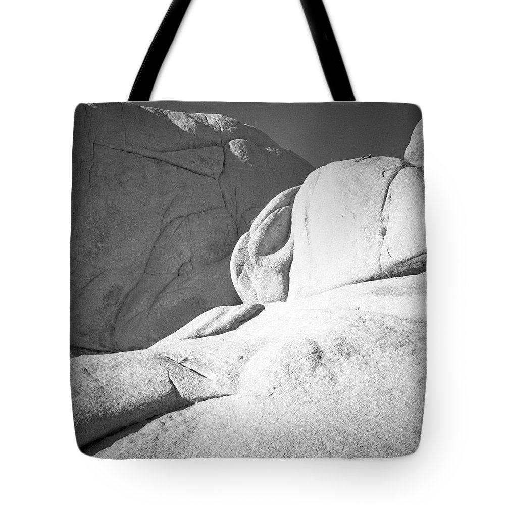 Diana F+ Tote Bag featuring the photograph Joshua Tree Rocks by Alex Snay