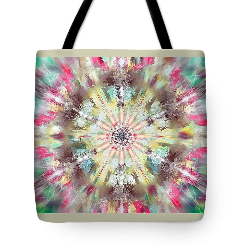 Kaleidoscope Tote Bag featuring the photograph Kaleidoscope by Savannah Gibbs