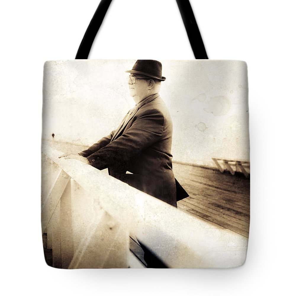Person Tote Bag featuring the photograph Life Of Memoirs by Jorgo Photography - Wall Art Gallery