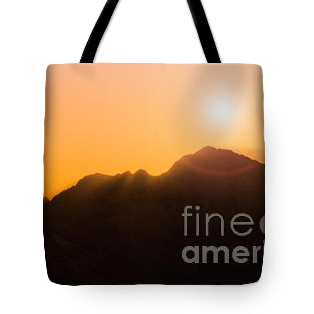 Alpine Tote Bag featuring the photograph Light Fantastique by Edmund Nagele