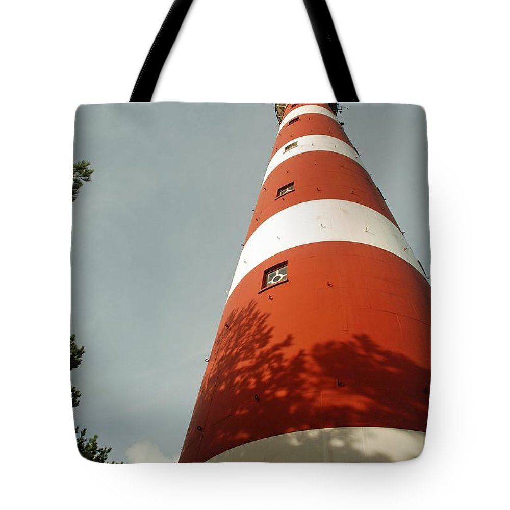 Lighthouse Tote Bag featuring the photograph Lighthouse by FL collection