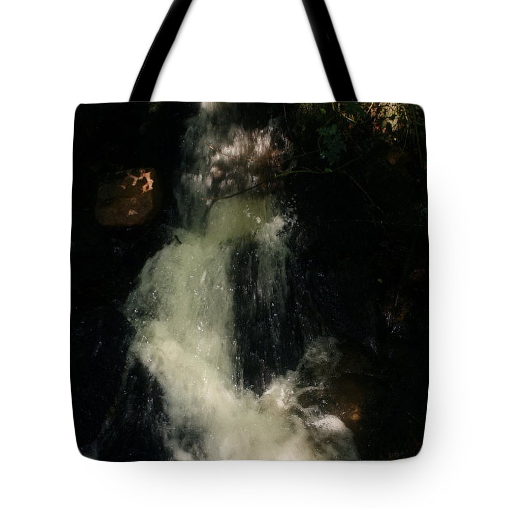 Canal Tote Bag featuring the photograph Llangollen And Maelor Country Waterfalls by Doc Braham