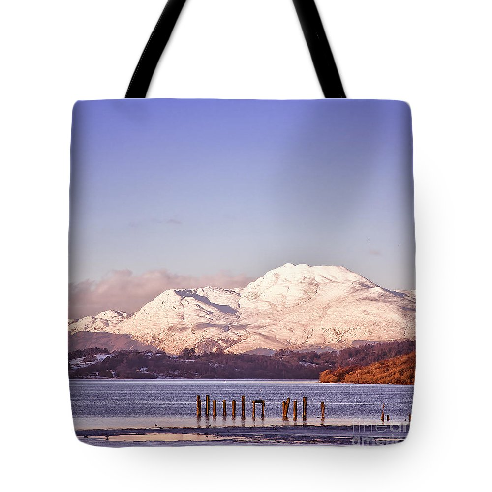 Balloch Tote Bag featuring the photograph Loch Lomond 02 by Antony McAulay