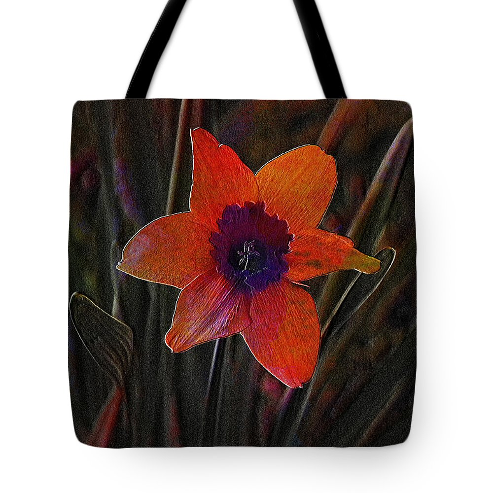 Flower Tote Bag featuring the photograph Lonely by Ericamaxine Price