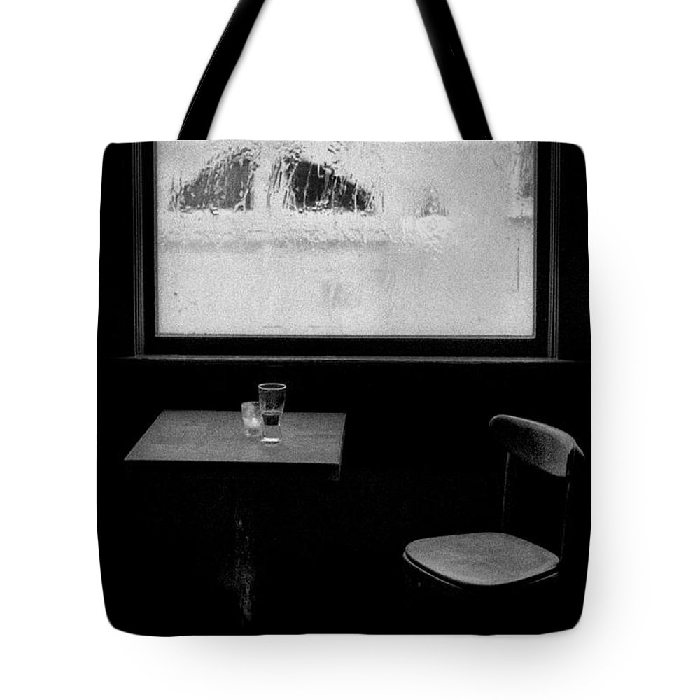 New York Tote Bag featuring the photograph Man Cave by Doc Braham