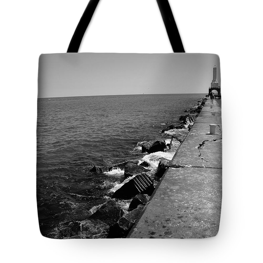 Jamie Lynn Gabrich Tote Bag featuring the photograph Long Thought by Jamie Lynn