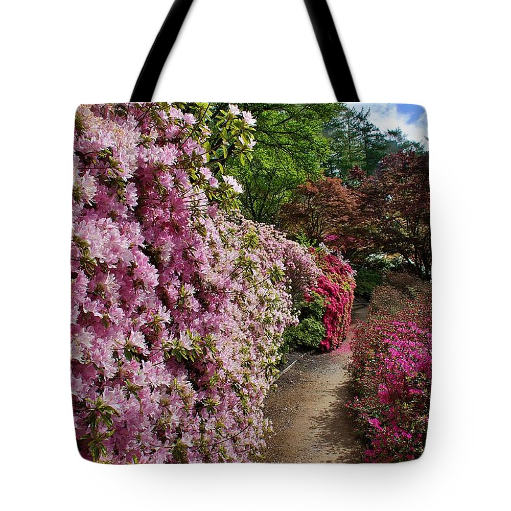 Flower Tote Bag featuring the photograph Lush by David Resnikoff