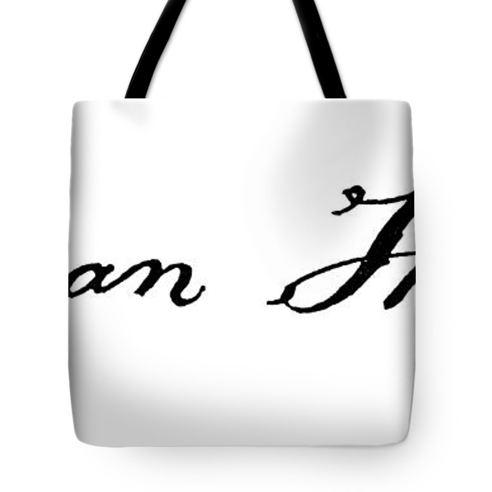 1776 Tote Bag featuring the photograph Lyman Hall (1724-1790) by Granger