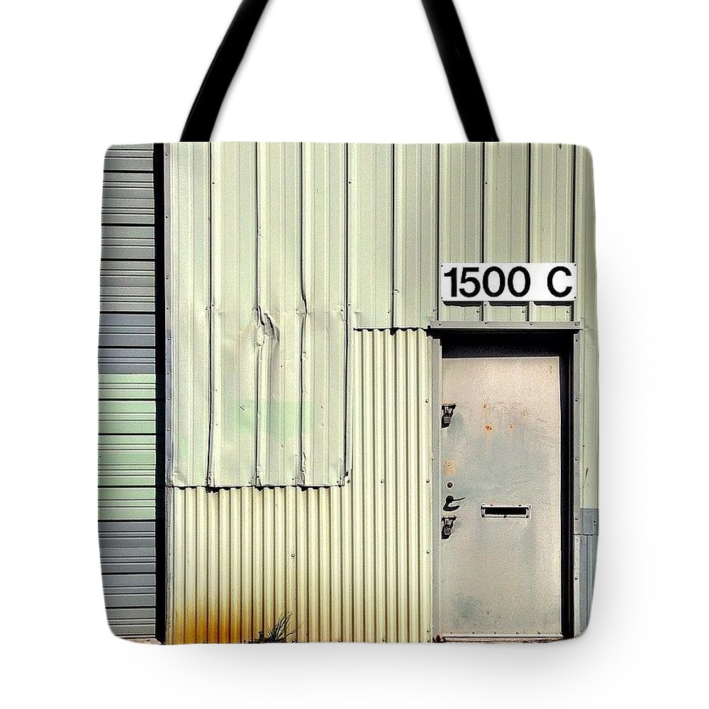 Doorsondoors Tote Bag featuring the photograph Pastel Wall by Julie Gebhardt