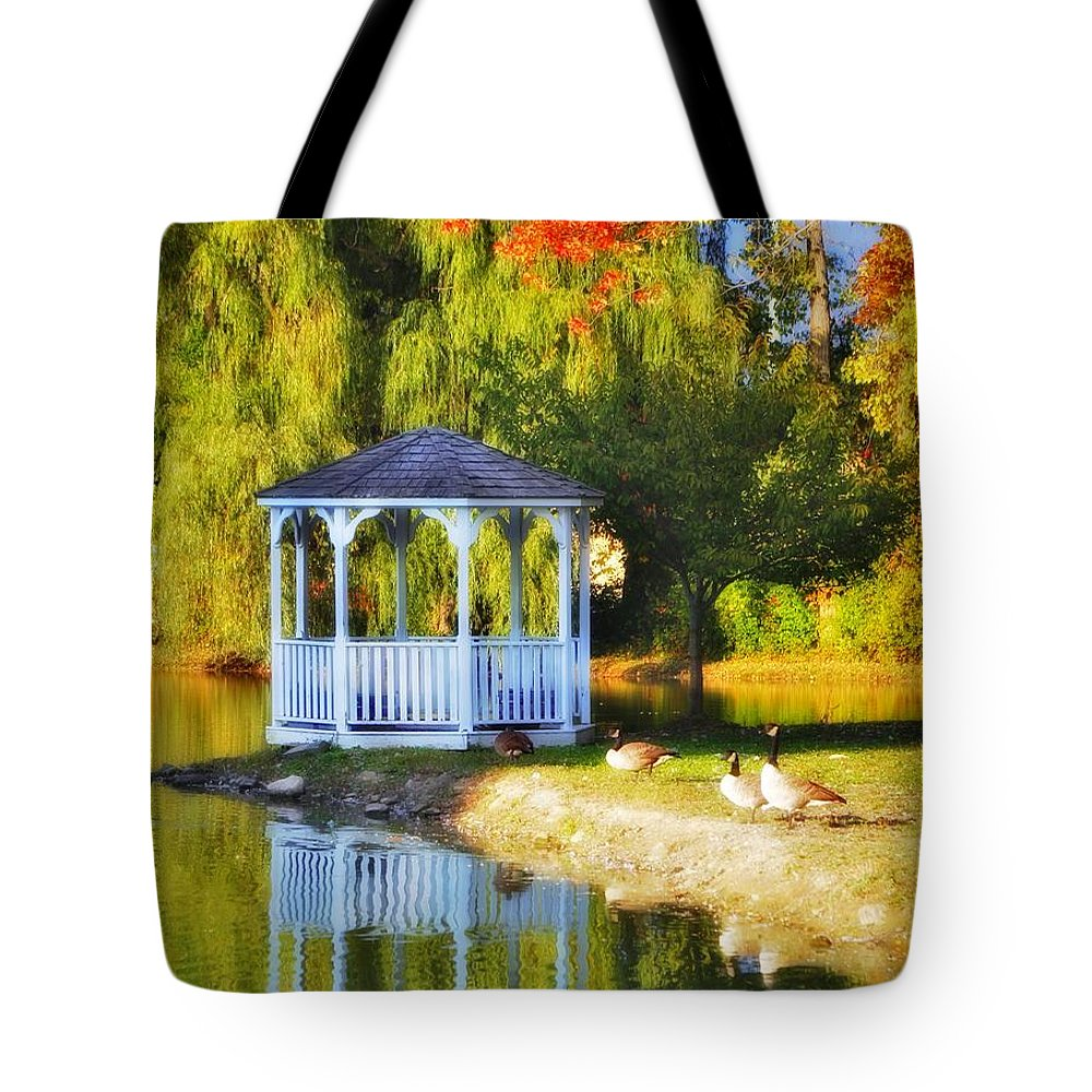 Tote Bag featuring the photograph Maples Farm 2 by Chet B Simpson