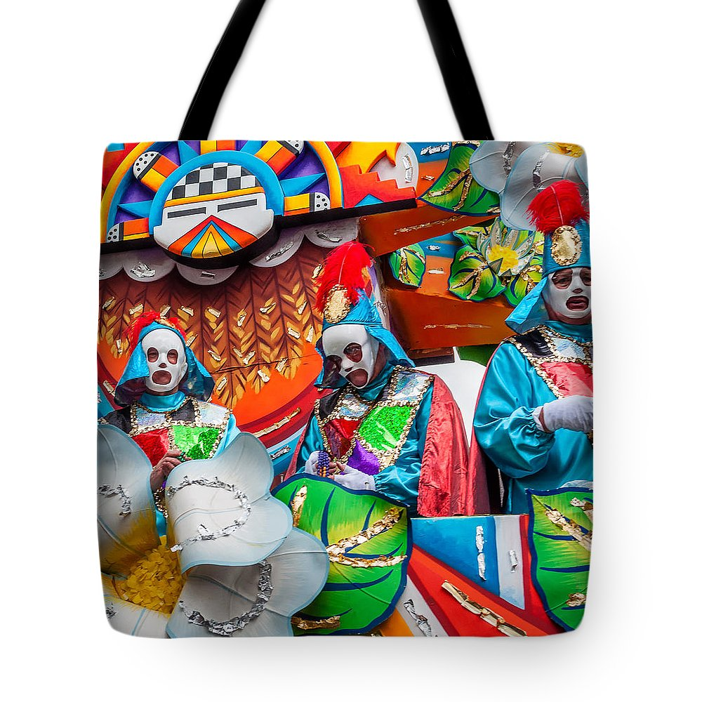Nola Tote Bag featuring the photograph Mardi Gras Float 2 by Steve Harrington