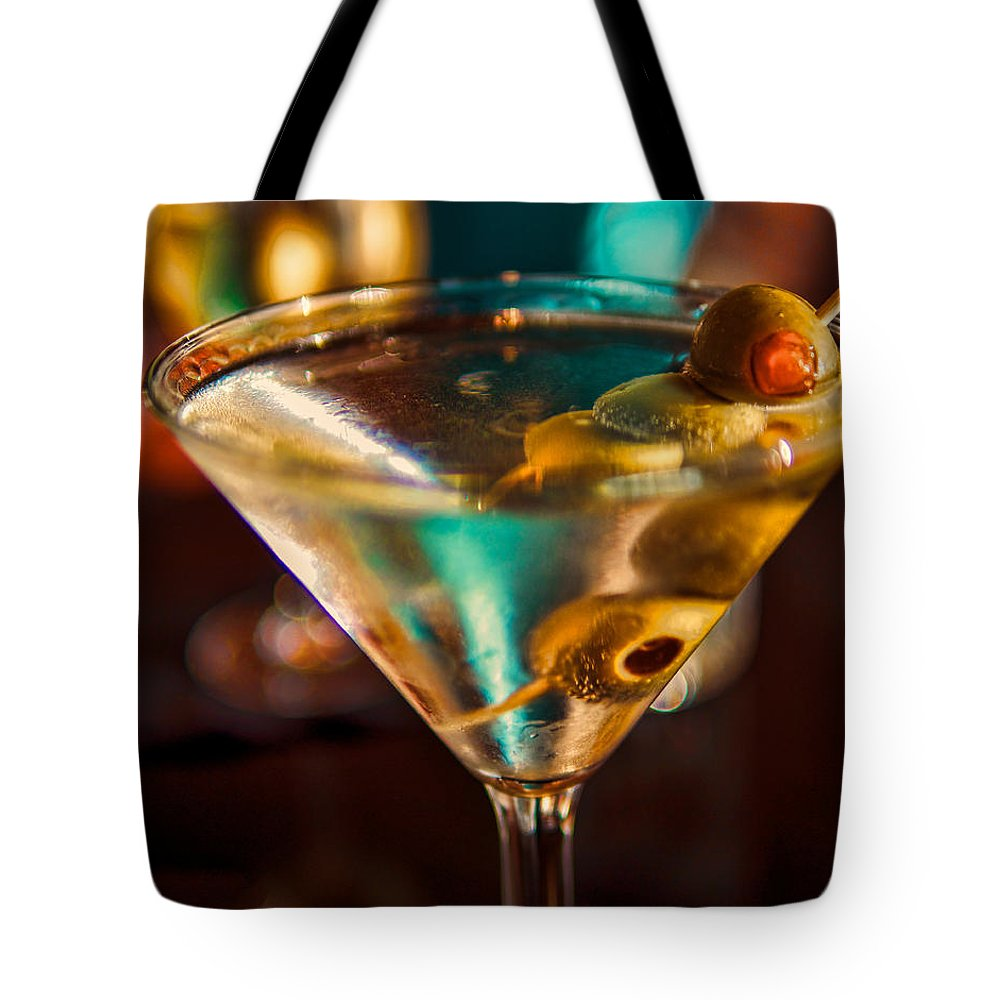 Martini Tote Bag featuring the photograph Martini by David Kay