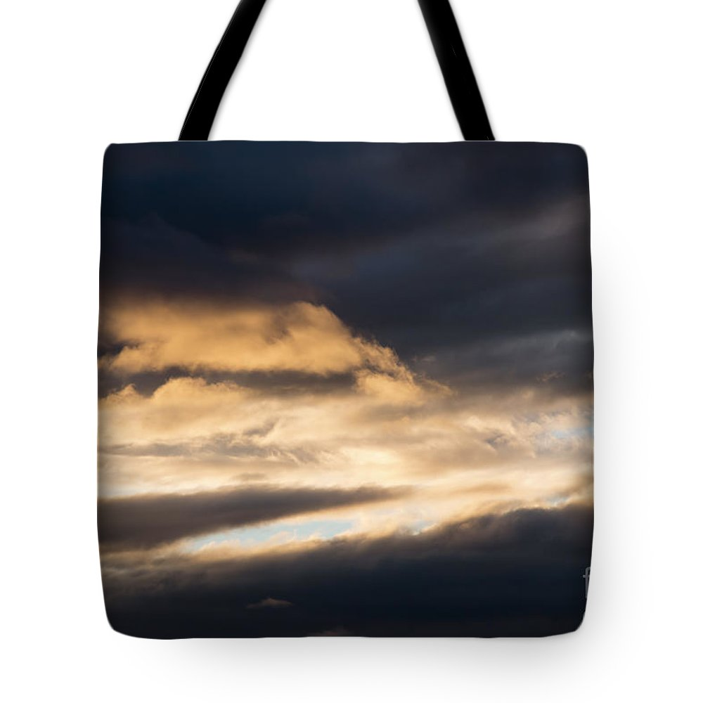 Cloud Tote Bag featuring the photograph Masses Of Dark Clouds by Michal Boubin