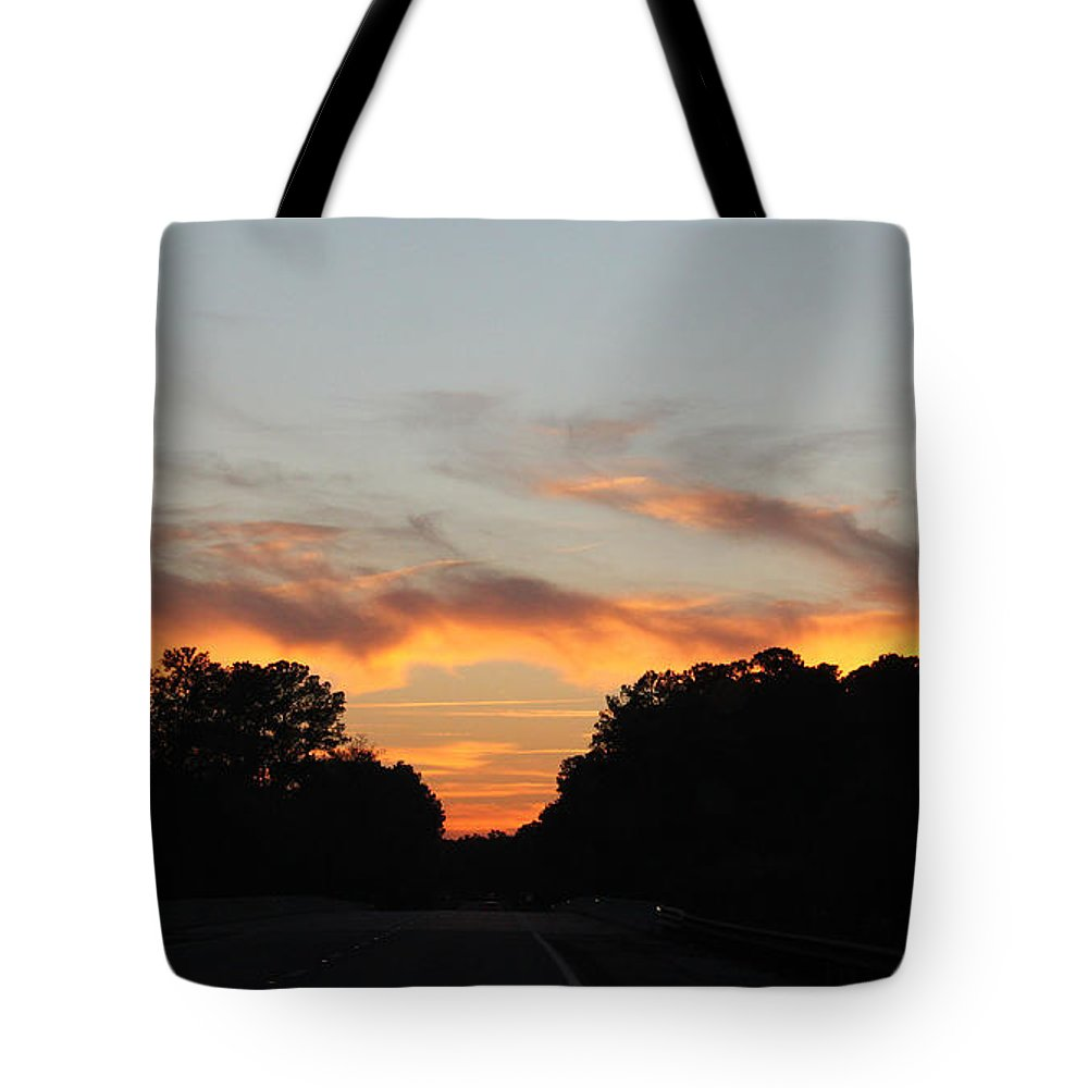 Sky Tote Bag featuring the photograph Mellow Sky by Suzanne Gaff