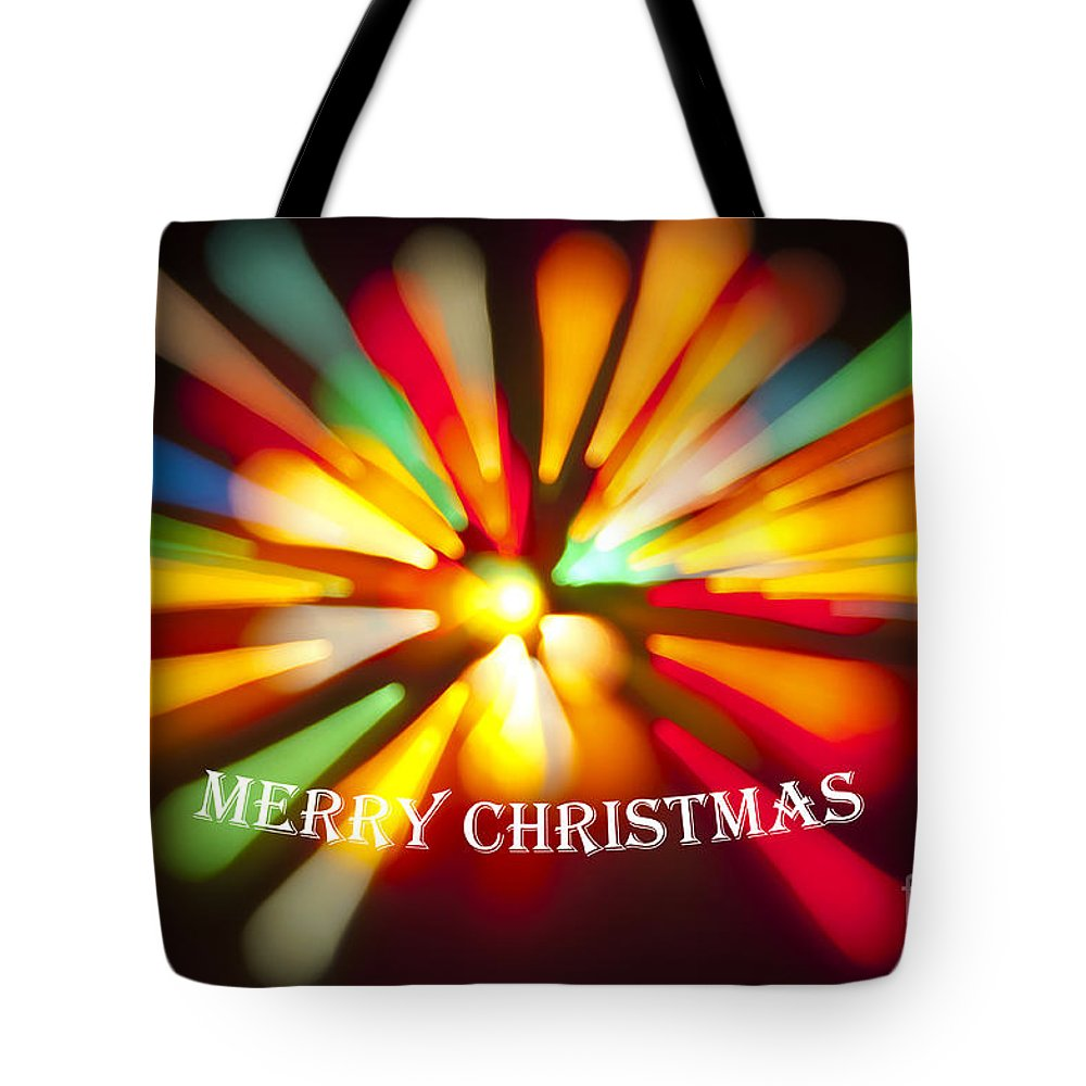 Merry Christmas Tote Bag featuring the photograph Merry Christmas by Glenn Gordon