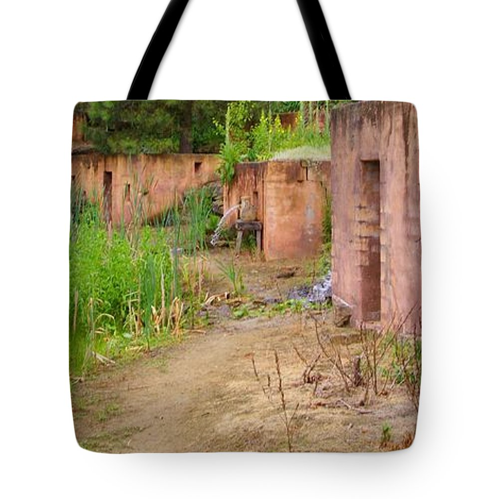 Mexican Homes Tote Bag featuring the photograph Mexico by Gabi Siebenhuehner