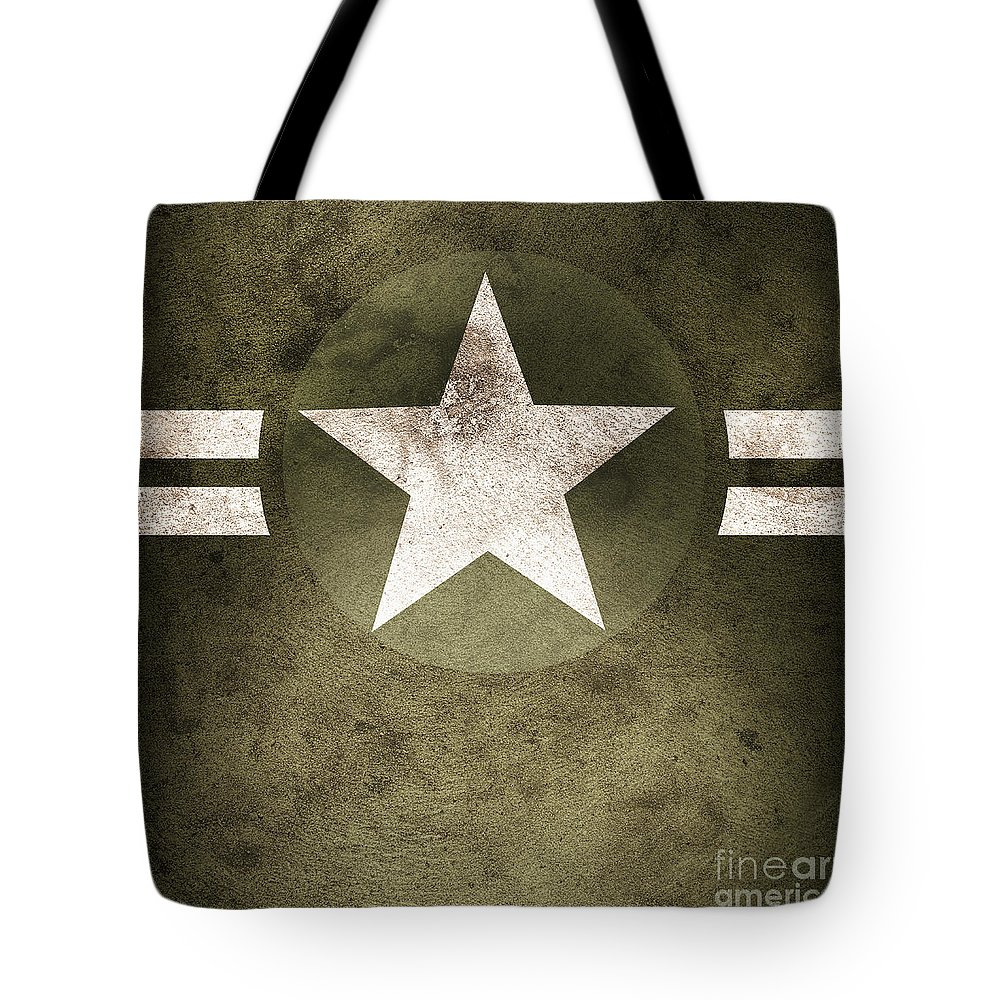 Background Tote Bag featuring the photograph Military Army Star Background by Jorgo Photography - Wall Art Gallery