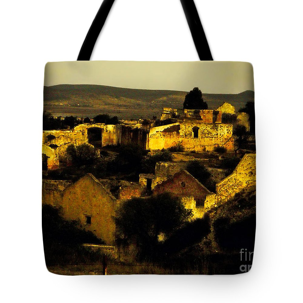 Tote Bag featuring the photograph Mineral De Pozos by Karla Weber