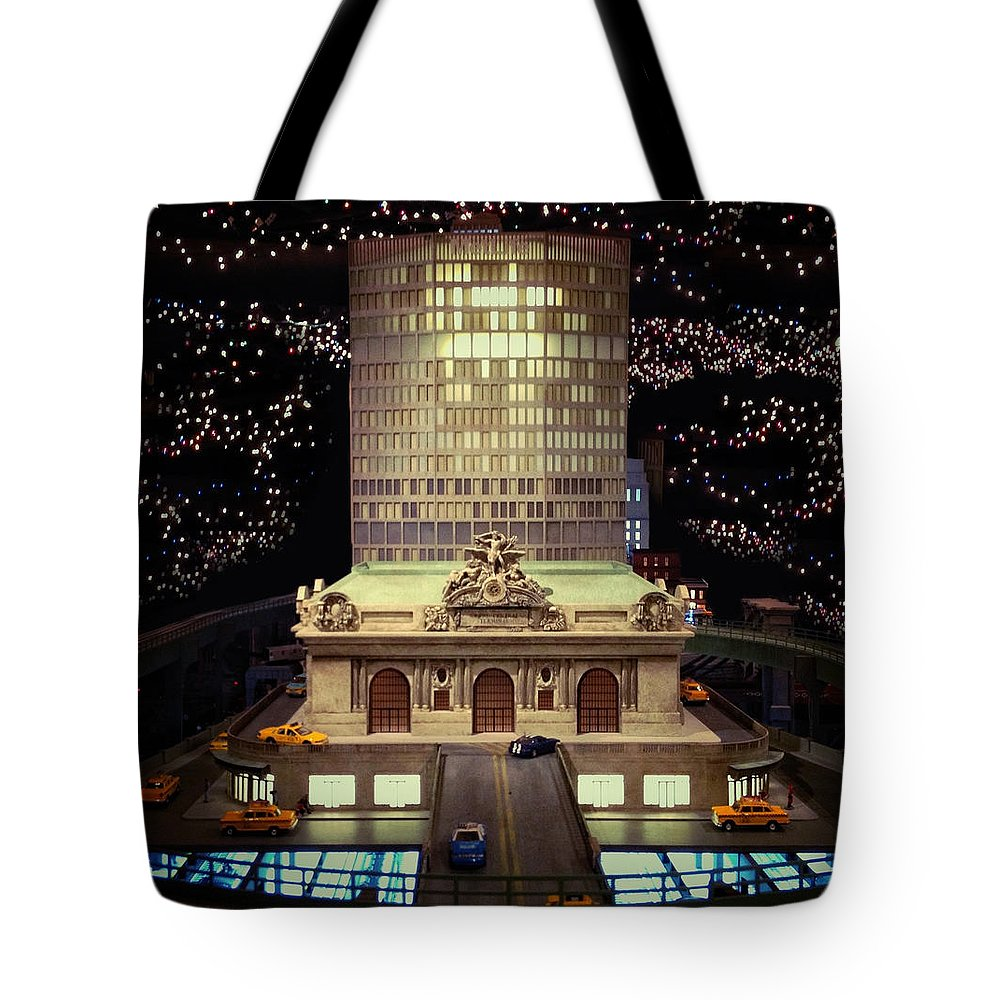 Grand Central Tote Bag featuring the photograph Mini Grand Central by Natasha Marco