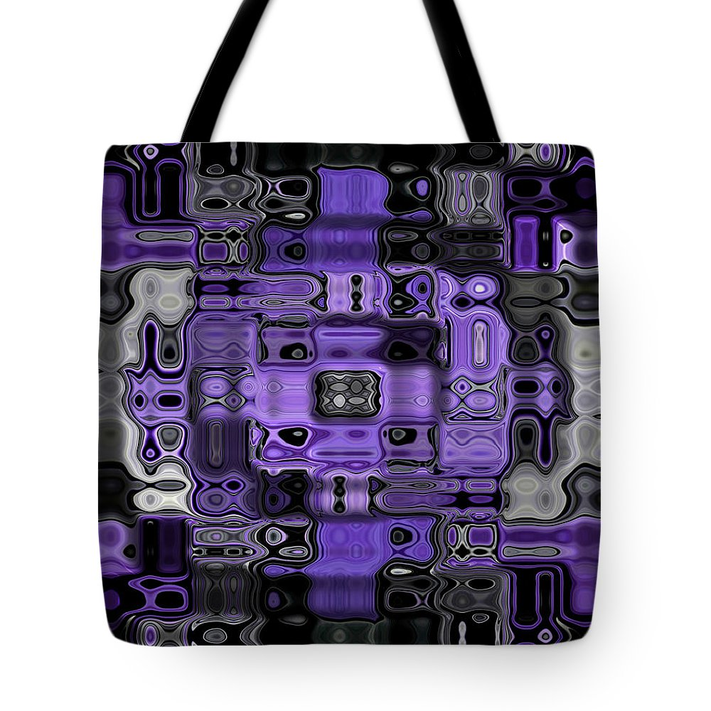 Original Tote Bag featuring the painting Motility Series 23 by J D Owen