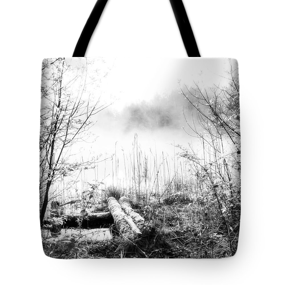Ice Fog Tote Bag featuring the photograph Natural Ice Fog by Yevgeni Kacnelson
