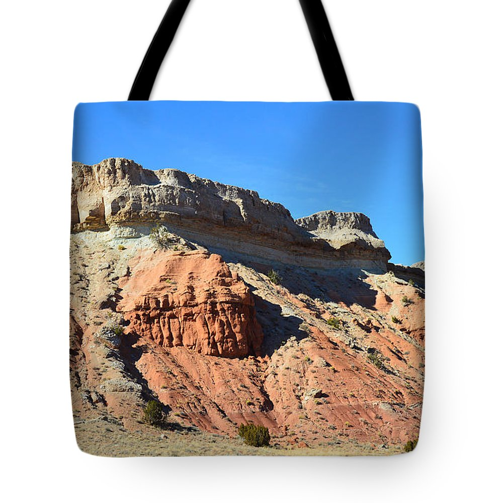 Mountain Tote Bag featuring the photograph Natures Castle by Meandering Photography