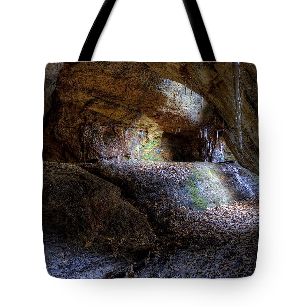 Nelson Ledges Tote Bag featuring the photograph Nelson Kennedy Ledges by David Dufresne