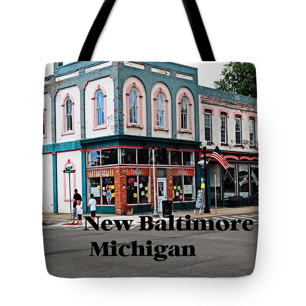 Michigan Tote Bag featuring the photograph New Baltimore Michigan by Gary Wonning