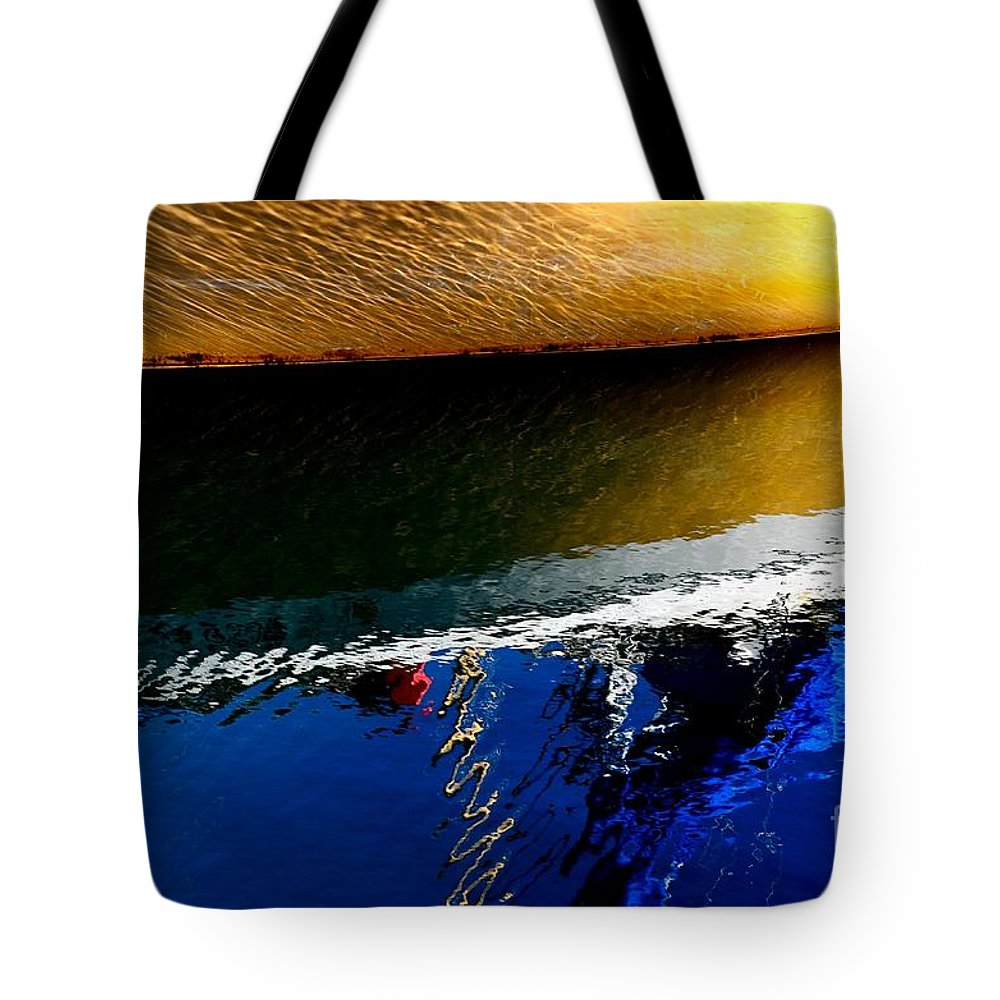 Abstract Tote Bag featuring the photograph New Day by Lauren Leigh Hunter Fine Art Photography