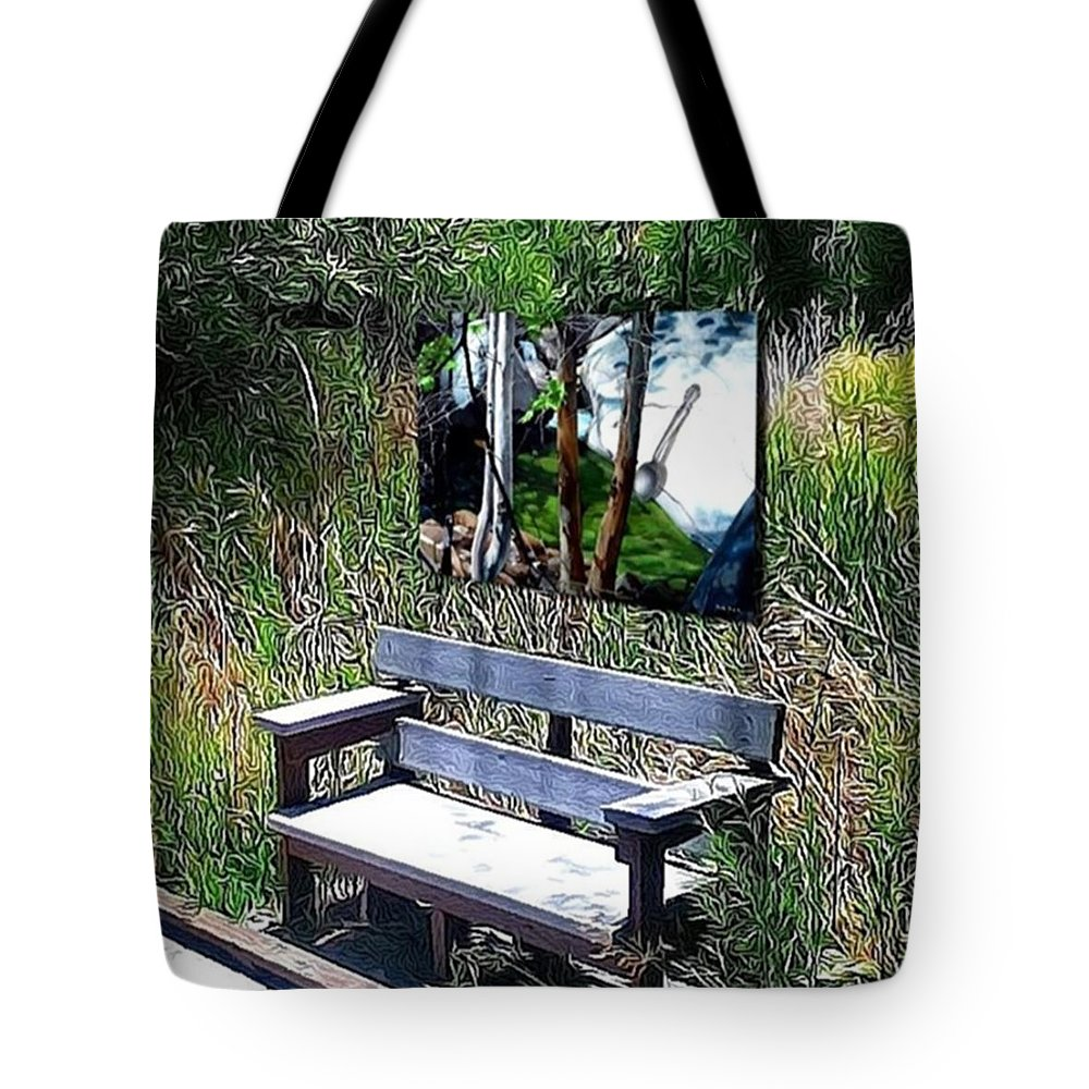 Tote Bag featuring the New Upload by Snake Jagger