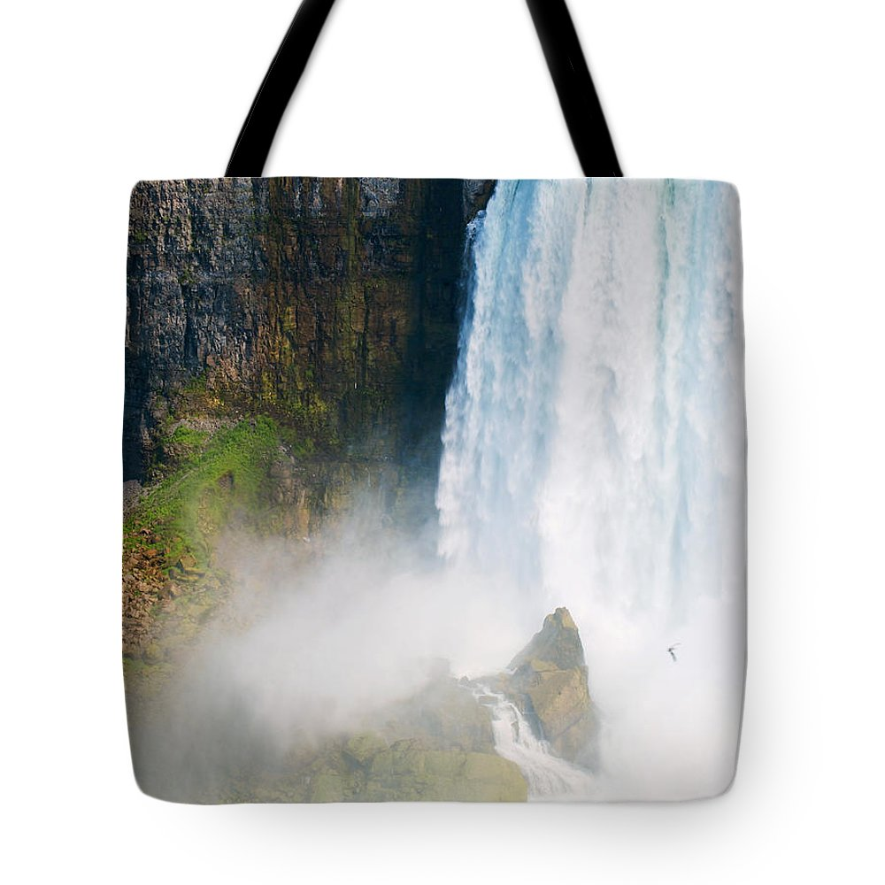 Niagara Falls Canada Tote Bag featuring the photograph Niagara Falls Canada by Bob Pardue