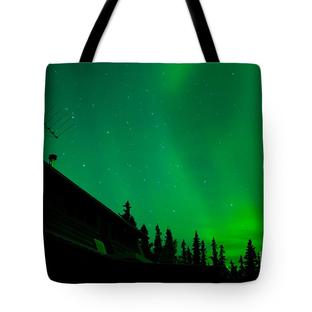Above Tote Bag featuring the photograph Northern Lights - Aurora Borealis - Substorm by Stephan Pietzko