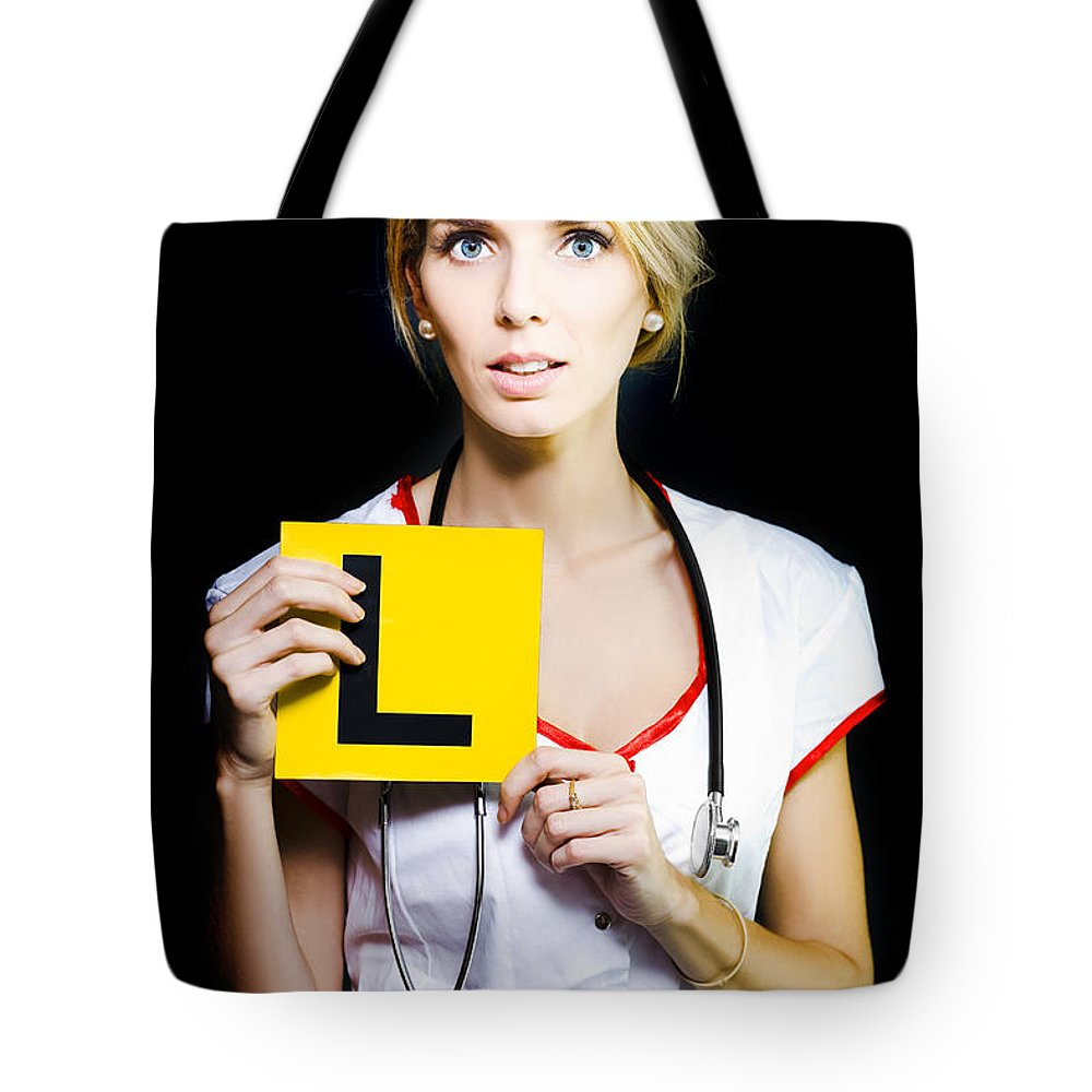 272df5140c81 Novice Nurse Or Medical Student Tote Bag
