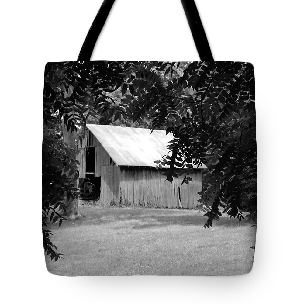 Old Barn Tote Bag featuring the photograph Old Barn 4 by Dwight Cook