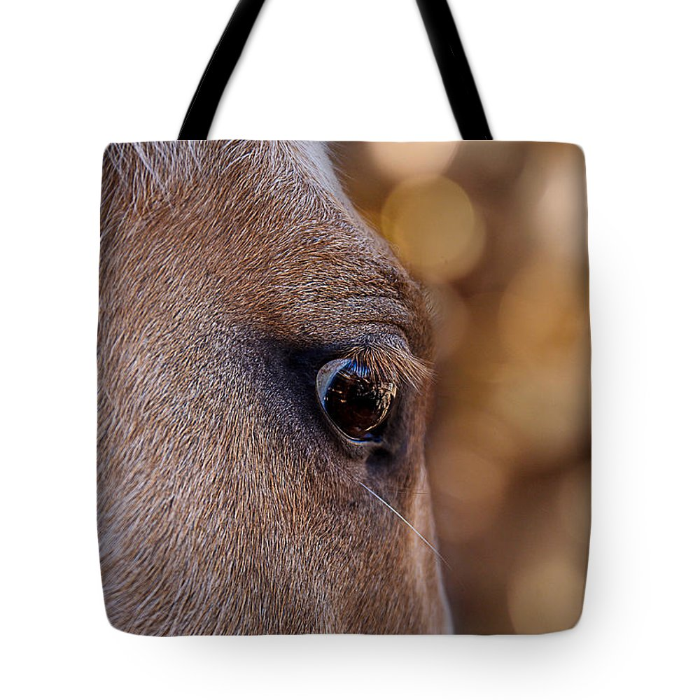 Animal Eye Tote Bag featuring the photograph On Watch by Doug Long