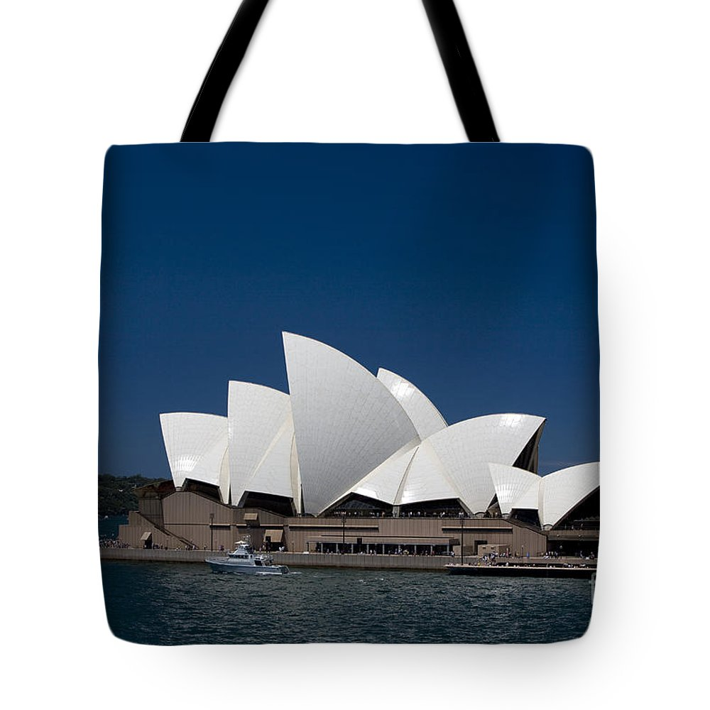 Sydney Tote Bag featuring the photograph Opera House by Martin Berry
