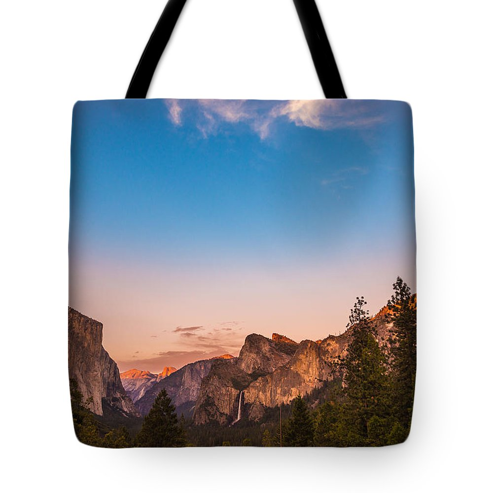 Yosemite Tote Bag featuring the photograph Painted by Kristopher Schoenleber