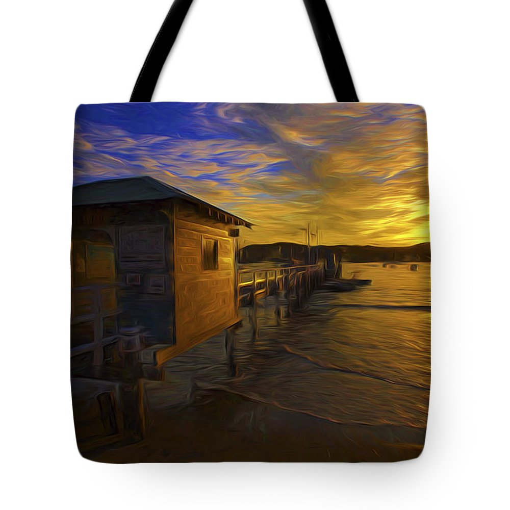 Palm Beach Tote Bag featuring the photograph Palm Beach Sunset by Sheila Smart Fine Art Photography