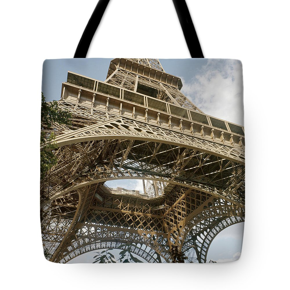 20th Century Tote Bag featuring the photograph Paris: Eiffel Tower by Granger
