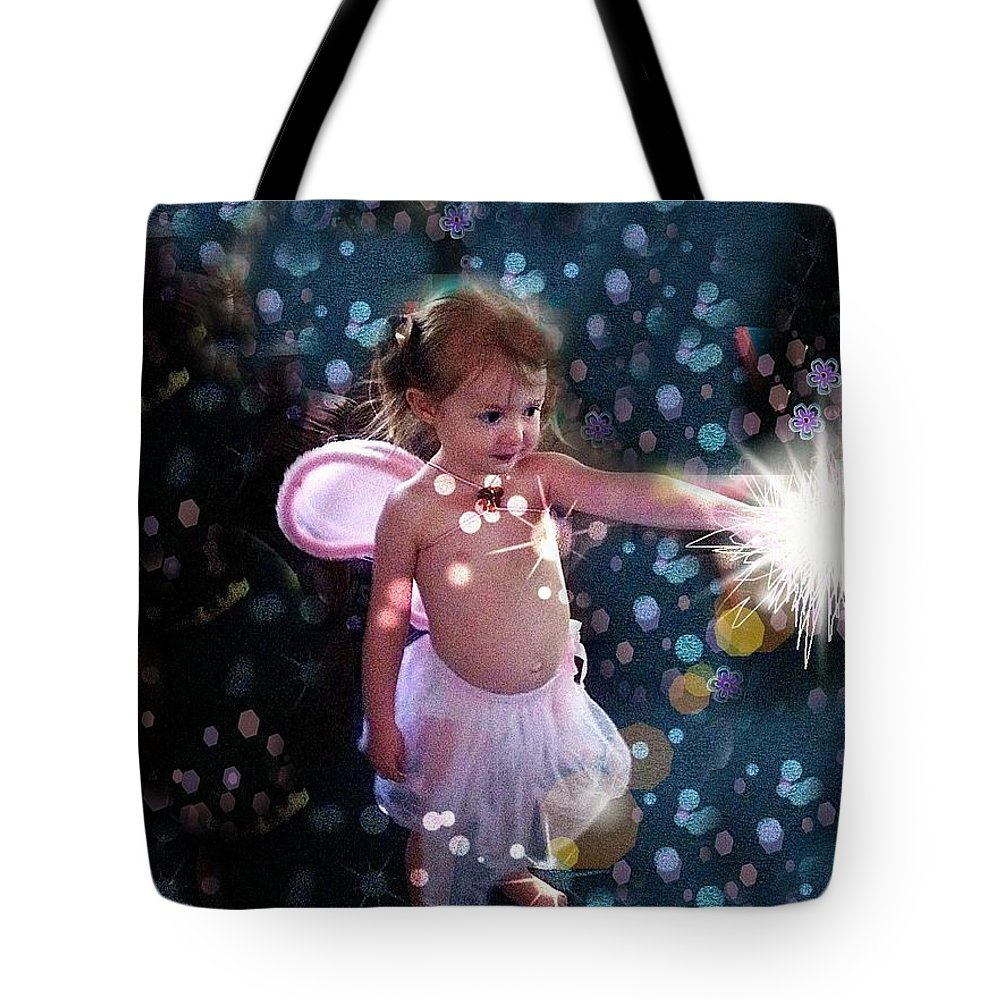 Photography Photographs Tote Bag featuring the photograph Fairy Magic by Deahn   Benware