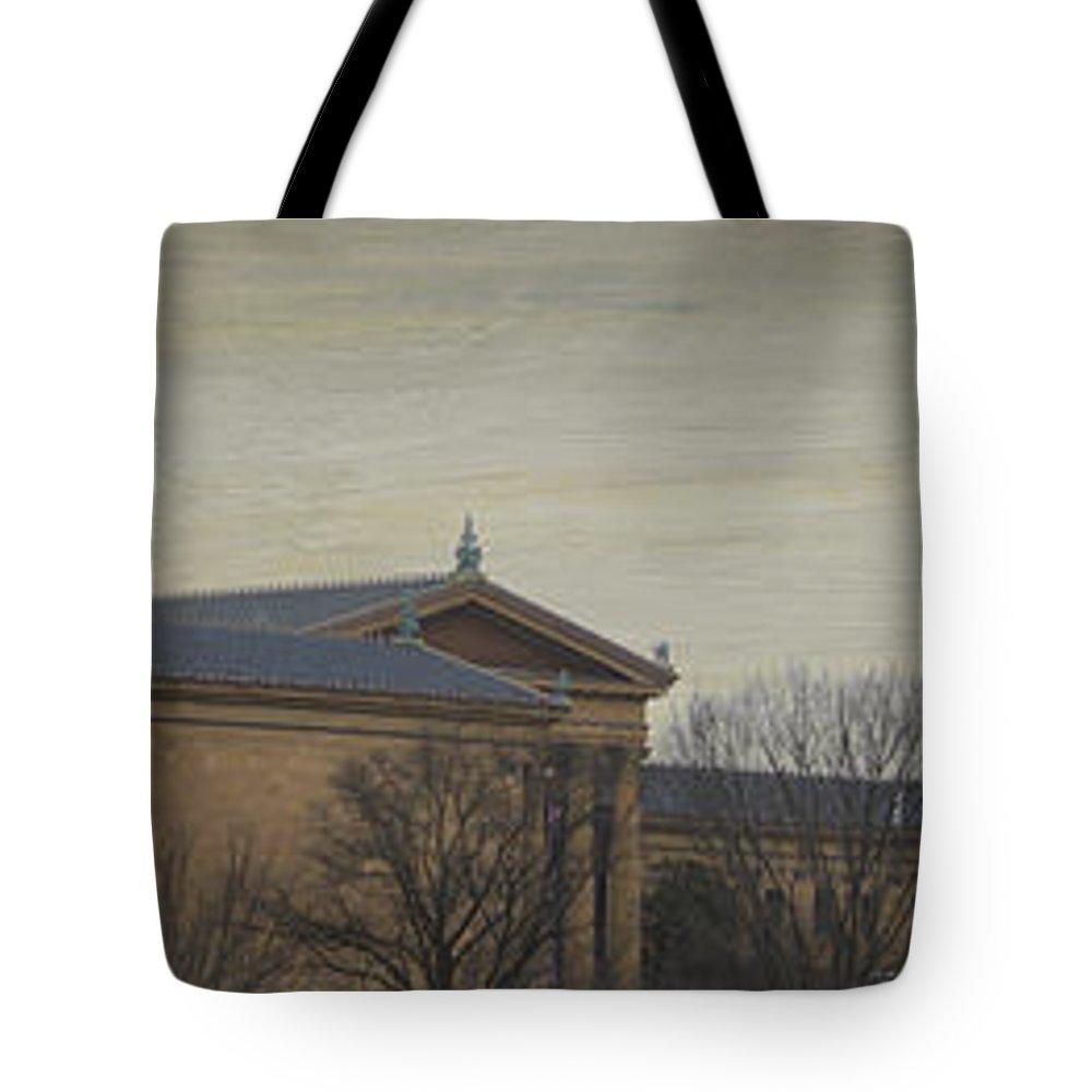 Philadelphia Tote Bag featuring the photograph Philadelphia Art Museum by Trish Tritz