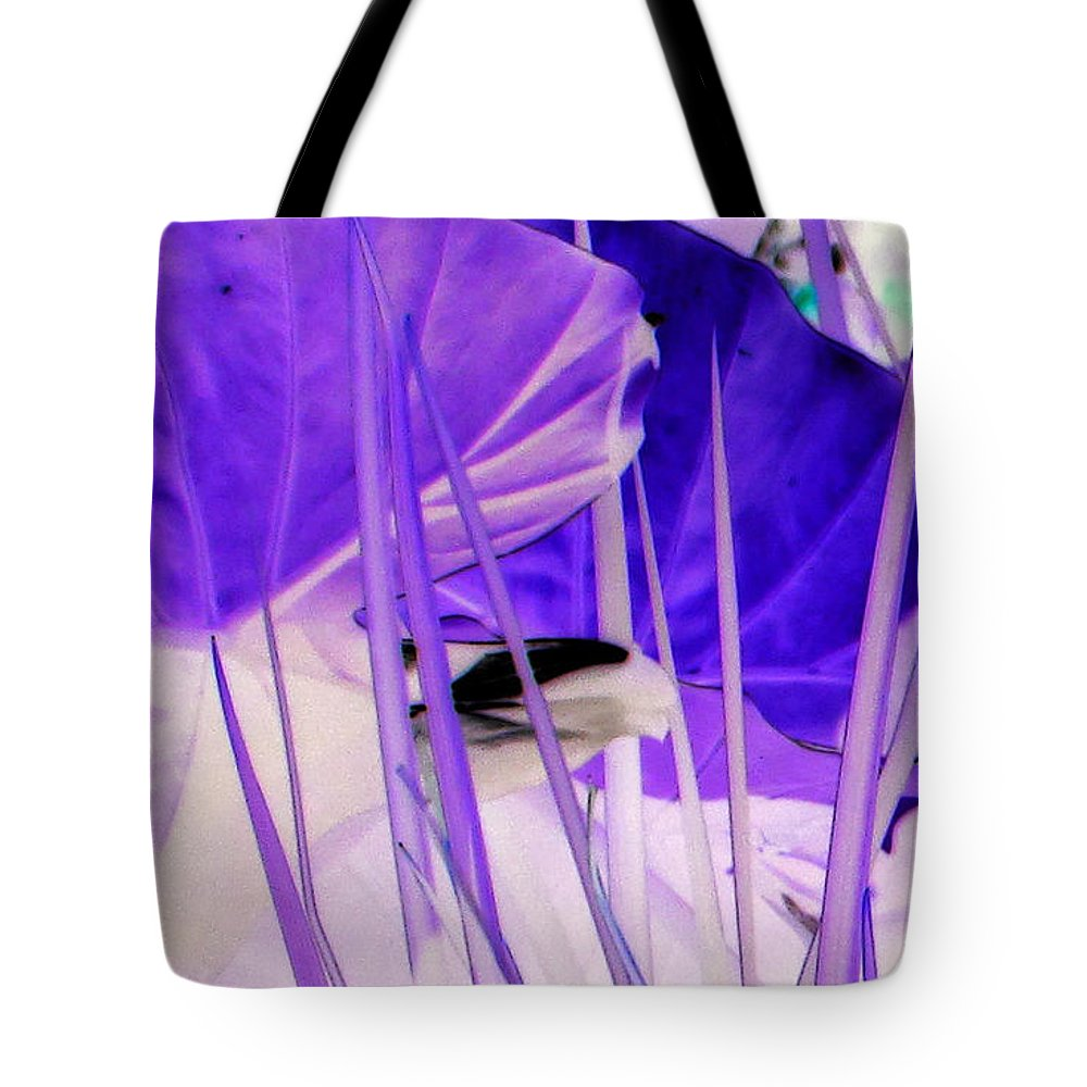 Elephant Leaves Tote Bag featuring the photograph Place Of Wonder by Debi Singer