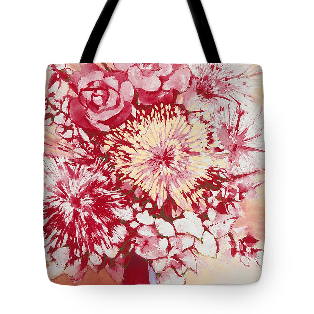 Tote Bag featuring the painting Pride And Joy by Jerome Lawrence